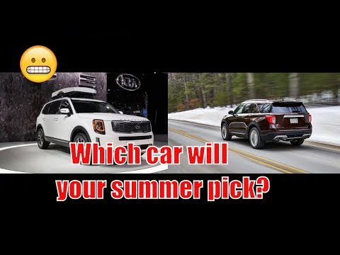 2020 Ford Explorer vs Kia Telluride  | Which car will your summer pick?