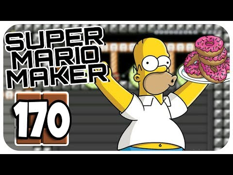 "Let's Play SUPER MARIO MAKER ONLINE Part 170: ""Ich liebe Bumper, ähh... Donuts!"""