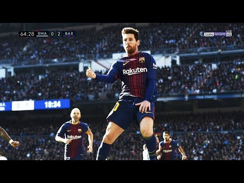 Lionel Messi vs Real Madrid (Away) 23.12.2017