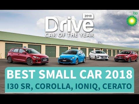 Best Small Car Of 2018 Hyundai I30 SR, Toyota Corolla, Hyundai Ioniq, Kia Cerato