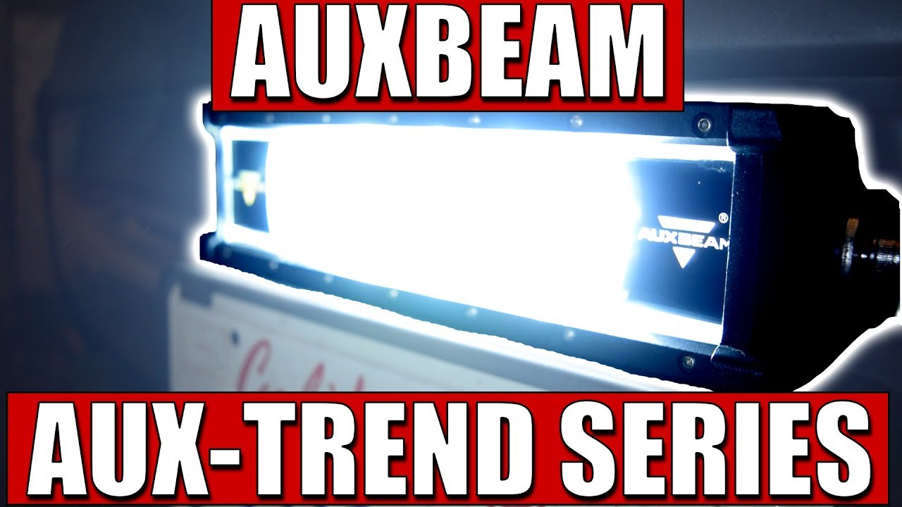 Auxbeam 12 Aux Trend Series Led Light Bar Youtube Zx14 Wiring Diagram Captainbagger66 Cb66 Captainbagger