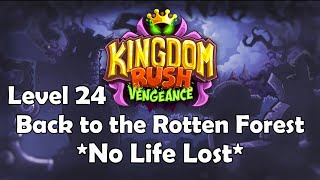 Kingdom Rush Vengeance - Level 24