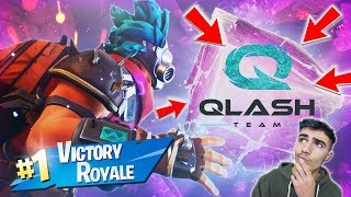 (TWO REAL WINS) I AM ENTRATO IN QLASH (QLS) THE BEST CLAN In Italy OF FORTNITE!!