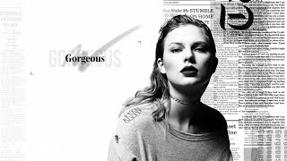 taylor swift gorgeous lyric video