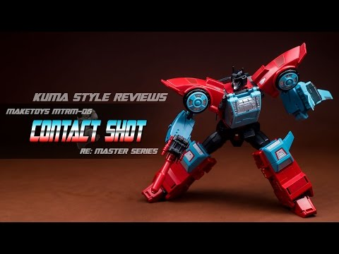 Toy Review MakeToys MTRM-06 Contact Shot