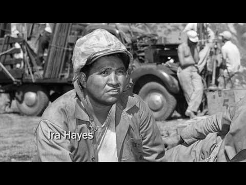 Marine Cpl. Ira Hayes, American Indian who raised the flag