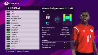 eFootball PES 2020 (PS4) - OSC LILLE CLASSIC ALL TIME XI (90/100)