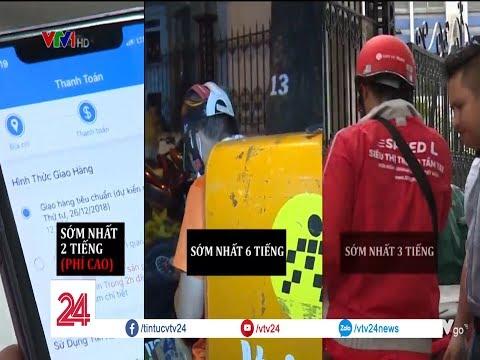 Xem Ai Giao Hàng Nhanh Hơn | VTV24