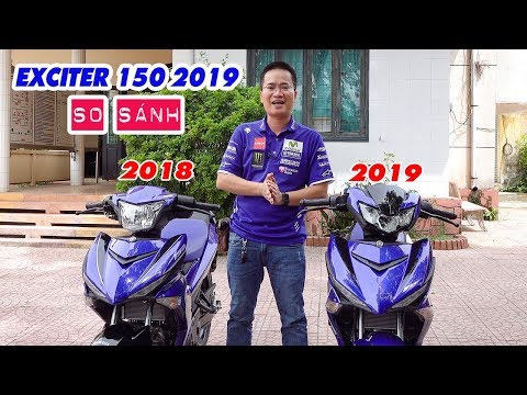 Exciter 150 2019 GP Vs Exciter 150 2018 GP ▶ So Sánh Chi Tiết