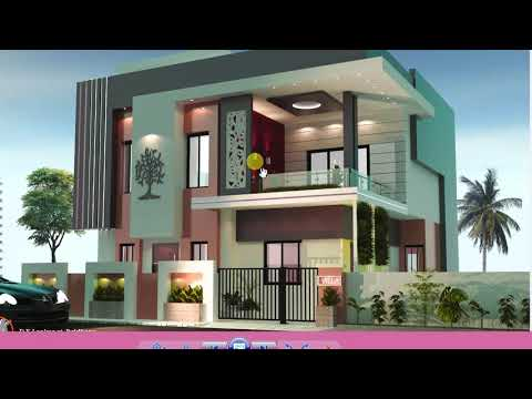 MODERN BUNGALOW HOUSE DESIGN WITH FLOOR PLANS