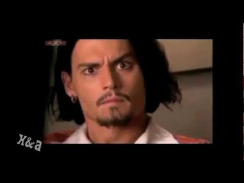 Johnny Depp laughing and goofy moments
