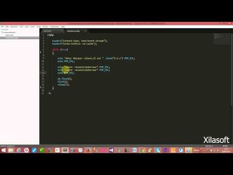 HTML5:server-sent Events,ajouter une méthode