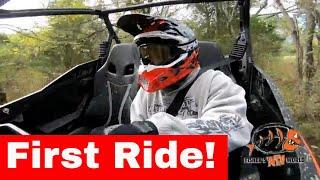 FIRST RIDE....Can-am Maverick Sport 1000R