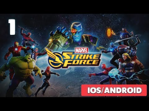 MARVEL STRIKE FORCE - IOS / ANDROID GAMEPLAY