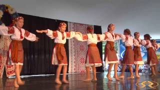Blyskavytsia Dance Group Girl's Dance At Sts. Volodymyr & Olha Ukrainian Catholic Church 2013