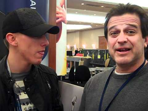 Allen Covert at the Super Bowl