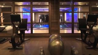 видео аренда шале на горнолыжном курорте мерибель