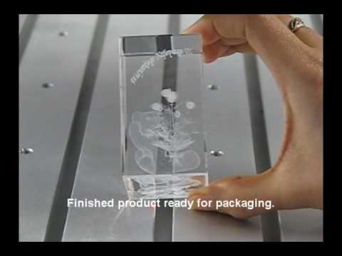 3D Laser Engraving Process