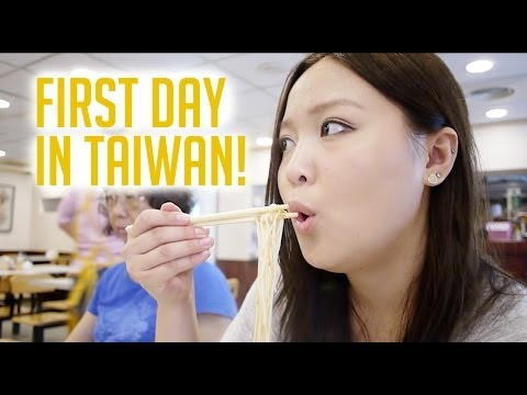 TAIWAN TRAVEL VLOG: First Day in Taiwan!