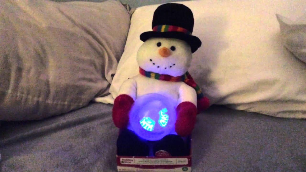 Sound N Light Animatronics Snowman Decoratingspecial Com