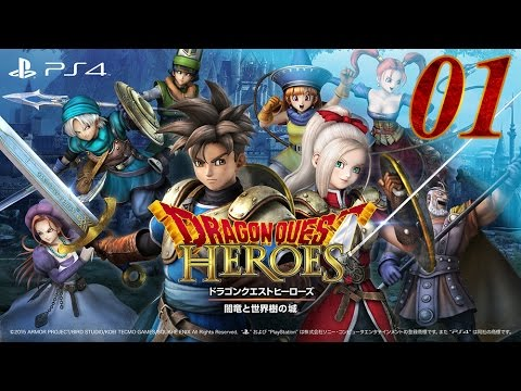 Dragon quest Heroes - Let's Play - episode 1