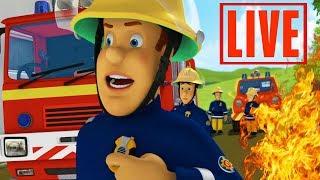 Fireman Sam US full Episodes   LIVE 🔴 Fireman Sam saves Pontypandy - Season 10   Kids Movie