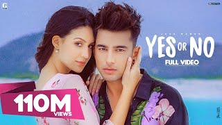 YES OR NO : Jass Manak (Official Video) Satti Dhillon | GK DIGITAL | Latest Punjabi Songs | Geet MP3