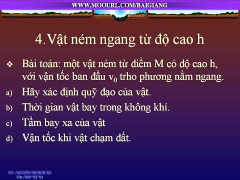 LY 10 CII DEMO Chuyen dong cua vat nem xien