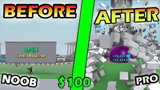 BEFORE & AFTER YOU SPEND $100 ON THIS GAME!- Roblox Destruction Simulator