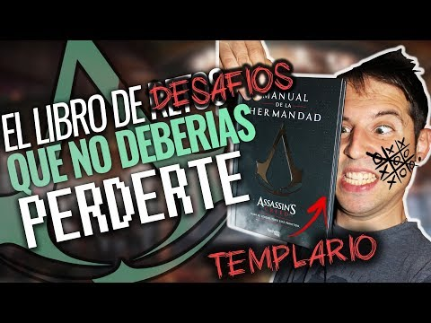 Assassin's Creed MANUAL DE LA HERMANDAD | EL LIBRO QUE NO DEBERÍAS PERDERTE | UNBOXING REVIEW