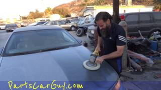 Car Buffing Polishing How To Tips Tutorial ~ Professional ONLY Do NOT Try at Home