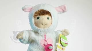 Обзор игрушки куклы Rubens Barn Ягненок | коллекция Ark для новорожденных 0+ в магазине Челобашка