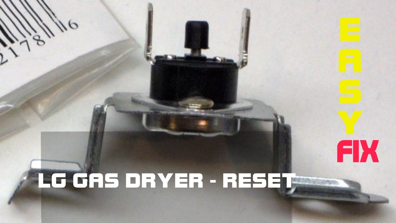 Lg Dryer No Heat Quick Fix Reset On Fast And Easy