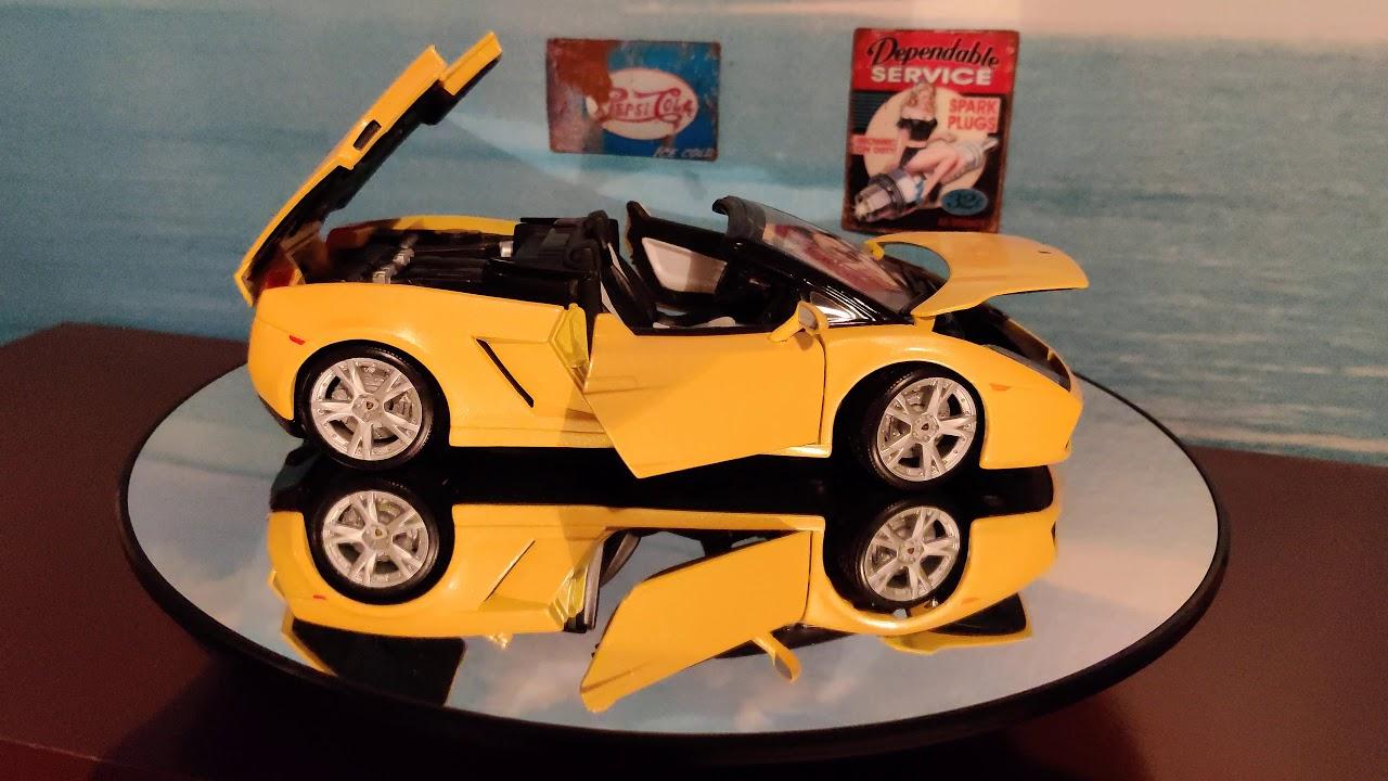 Lamborghini Gallardo Spyder 1:18 4K
