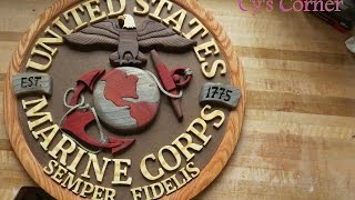 Marine Corps Emblem Ooohrah!