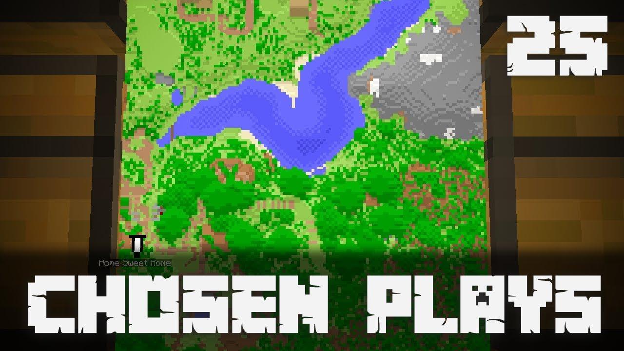Chosen Plays Minecraft 1 14 Ep  25 Map Adventure + Hero of the Village