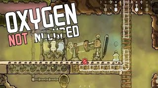 Oxygen Not Included - WATER PROBLEMS ARE OVER Water Purifier + Disease! - Gameplay Highlights Part 7(We're back with more Oxygen Not Included alpha gameplay! Our water problems (that we may have had) are over as we get our water purifier up and running, ..., 2017-02-24T20:00:01.000Z)