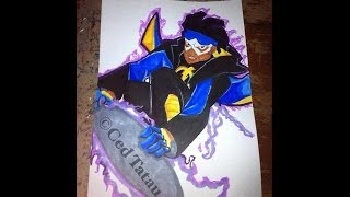 Copic Marker Drawing Static Shock