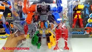 Unboxing Mainan Tobot Giga Seven Toys X Y Z D K T V Car Robot Transformers