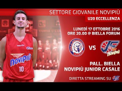[Under 20 Eccellenza] Banca Sella Biella - Novipiù Casale LIVE