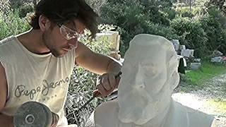 Le buste de Jean Jaurès, sculpture de Pierre ABADIE