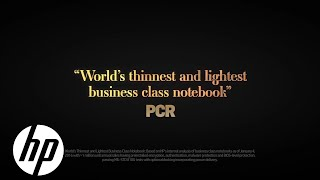 Elitebook Folio - The World's Thinnest Business-Class Notebook