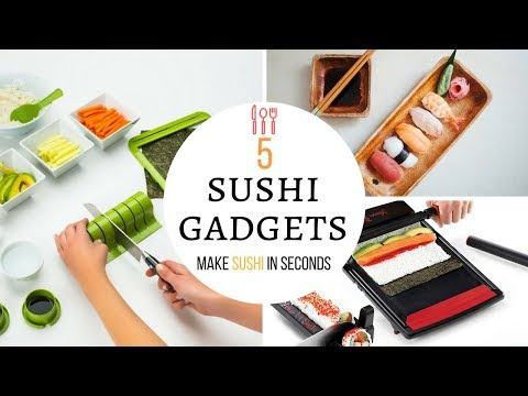 5 Sushi Gadgets - to help you make sushi rolls in seconds
