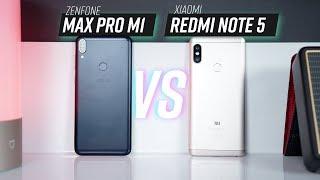 So sánh Zenfone Max Pro M1 và Xiaomi Redmi Note 5
