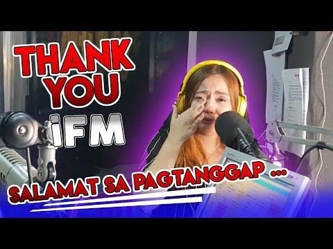 DJ KARA NAGING EMOSYONAL! THANK YOU iFM | CANDIYEY