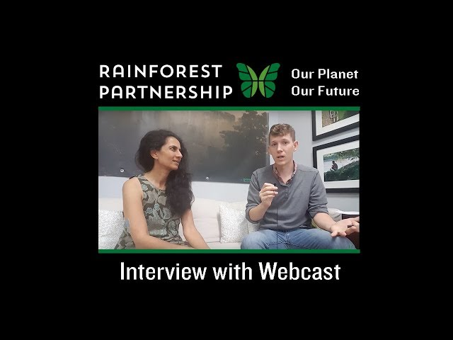 Our Planet. Our Future. Webcast -  Interview with Niyanta Spelman