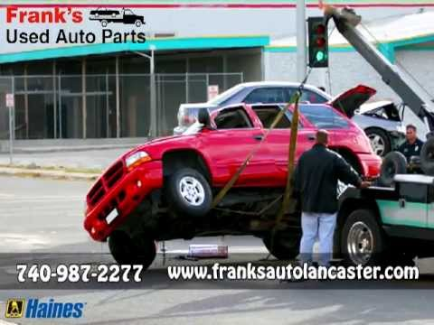 Franks Auto Salvage >> Frank's Used Auto Parts In Junction City, OH - YouTube