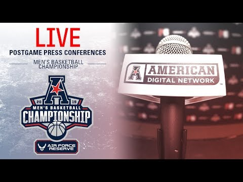 2019 American Men's Basketball Championship Postgame Press Conference (UConn vs USF)