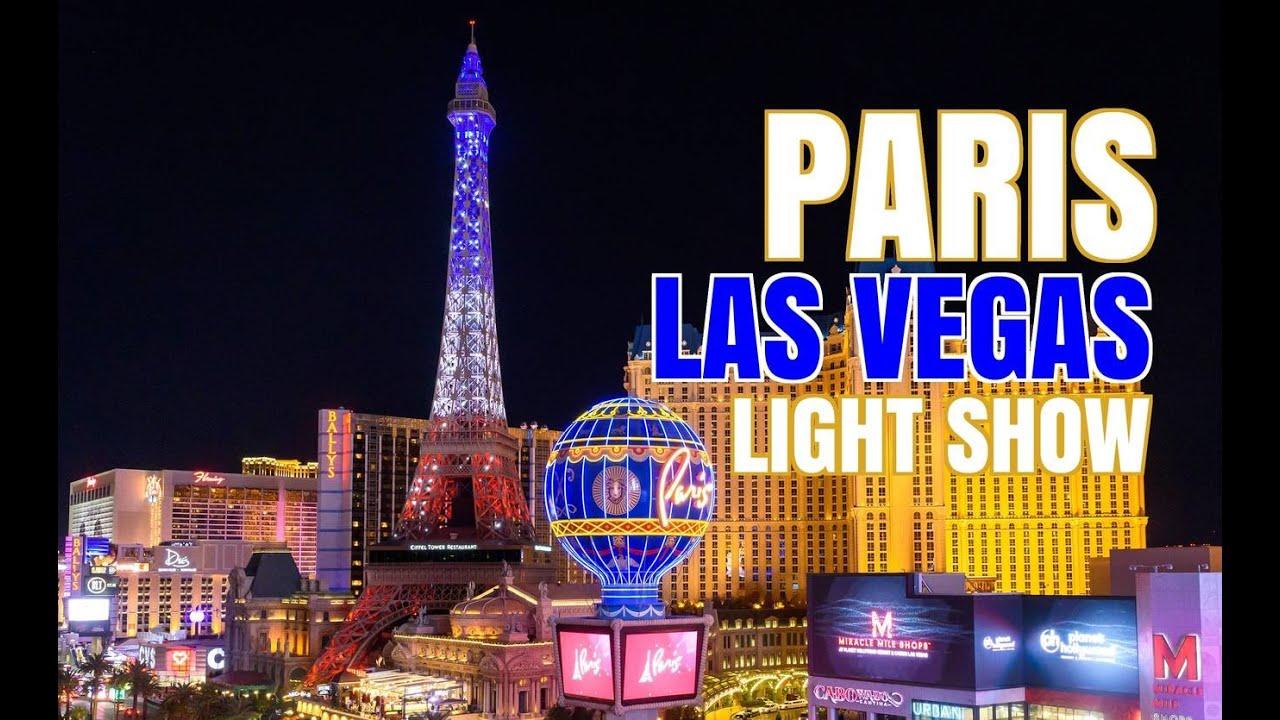 BEST Las Vegas Hotels | PARIS LAS VEGAS | Eiffel Tower Light Show