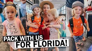 Pack With Me For Family Vacation to Florida!